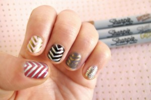 Sharpie-nail-art