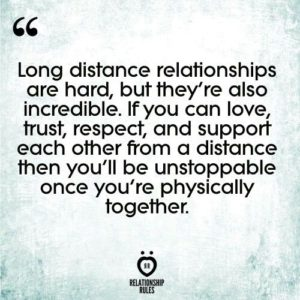 Keys to making a long distance relationship work