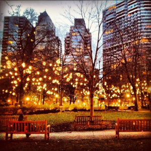 The last picture Madison posted on Instagram of Rittenhouse Square at sunset, just hours before she jumped to her death.