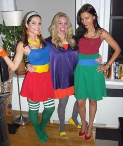 10.13.07 - Rubik's Cube Party - Julia Allison and Leven Rambin and Meghan Asha