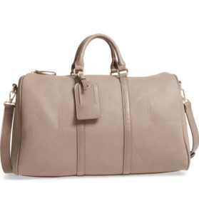 Sole Society 'Cassidy' faux leather duffel bag for $70 at nordstrom.com