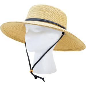 Women's braided sun hat for $25 at sloggers.com