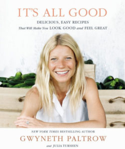 It's All Good by Gwyneth Paltrow for $26 at barnesandnoble.com
