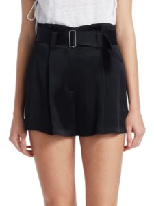 $207 A.L.C. Deliah belted shorts from saksfifthavenue.com