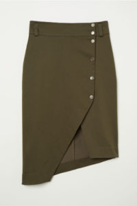 $30 Asymmetric skirt from hm.com