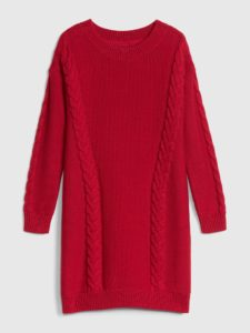 Cable-knit sweater dress for $58 USD from gap.com