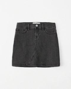 Denim skirt for $33 from abercrombie.ca