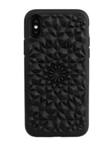 Valentine's Day gift matte black kaleidoscope iphone case for $40 USD from felonycase.com
