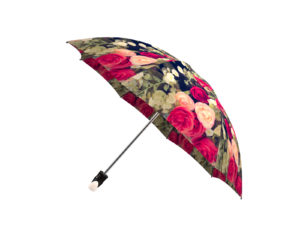 Valentine's Day gift vintage roses umbrella for $45 CAD from labella-umbrella.com