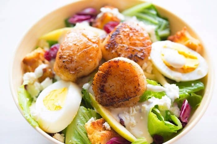 superfood scallops