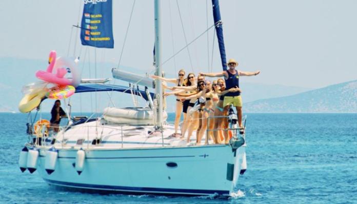 sail through greece boat medsailors