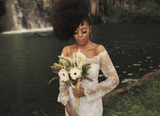 non-traditional bridal wedding looks