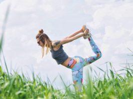 stretch stretching woman