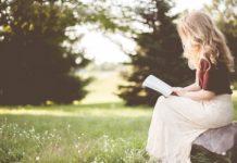 female reading book poets feminist
