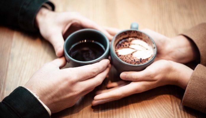 first date hands