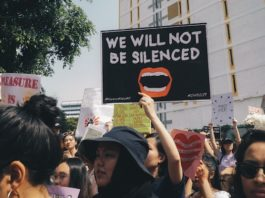 social justice protest