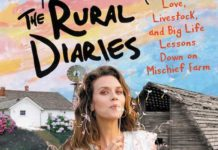 hilarie burton new book the rural diaries
