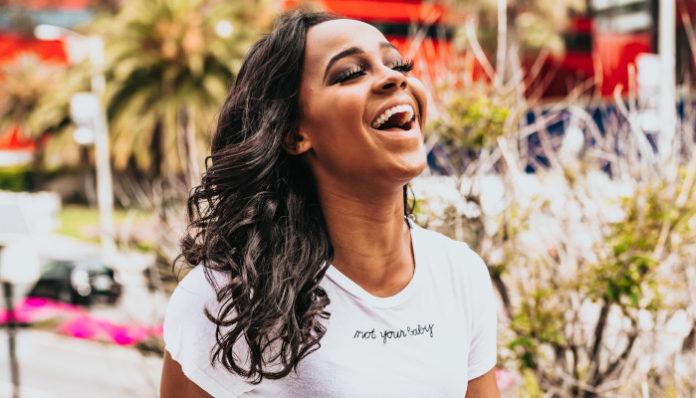 white-black-girl-laughing