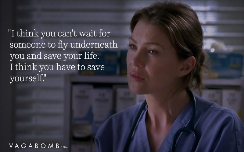 love greys anatomy quote - 800×500