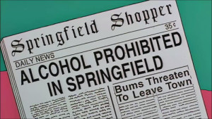 Alcohol prohibited in Springfield