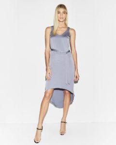 Hi-lo tank midi dress, $48, express.com