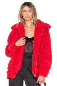 I.Am.Gia pixie pile fleece coat, $120, revolve.com