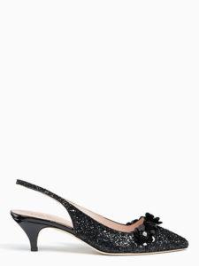 Olima heels, $298, katespade.com