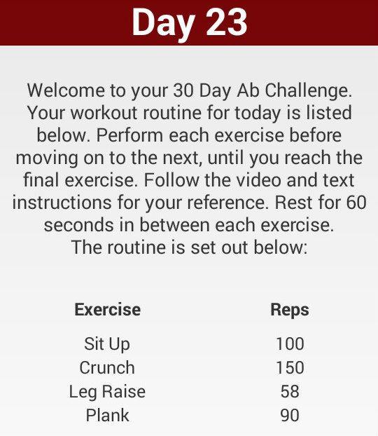 I Did A 30 Day Ab Challenge And Here's What Happened