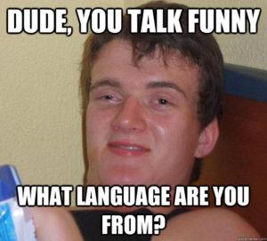 weird talk meme